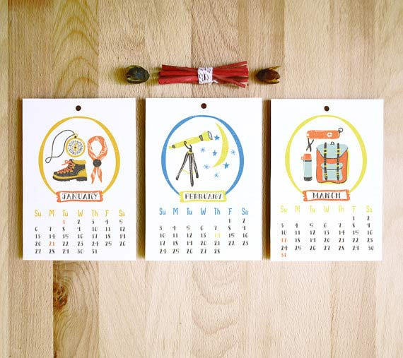 Monthly Calendar Design Creative : Creative calendar designs and ideas scg